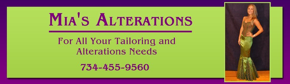 Tailor - Mia's Alterations - Canton, MI