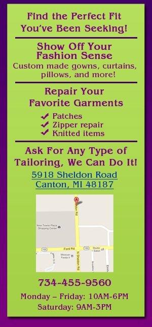 Tailor - Canton, MI - Mia's Alterations