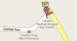 Lowery Eye Clinic & Surgery Center - 105 Central Avenue, Searcy, AR 72143