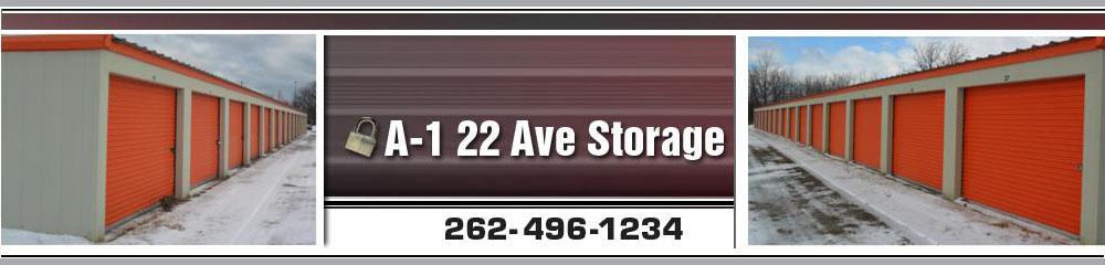 Storage Units Kenosha, WI   A 1 22 Ave Storage 262 496 1234
