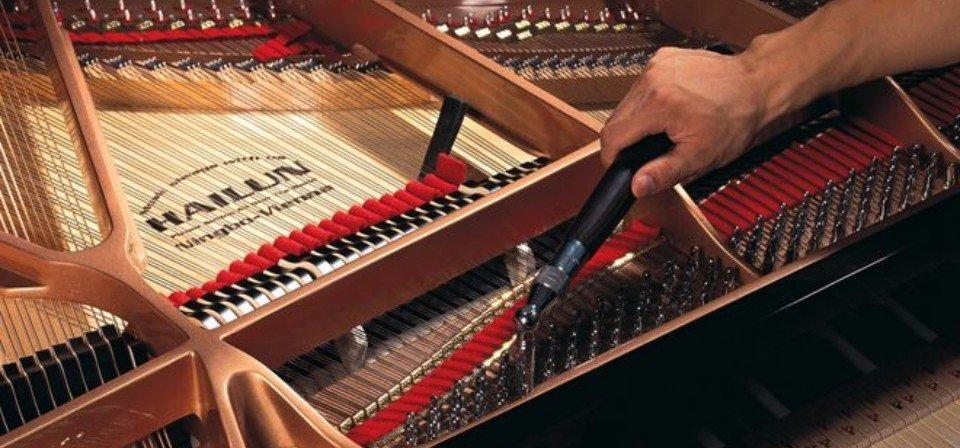 Piano tuning knobs