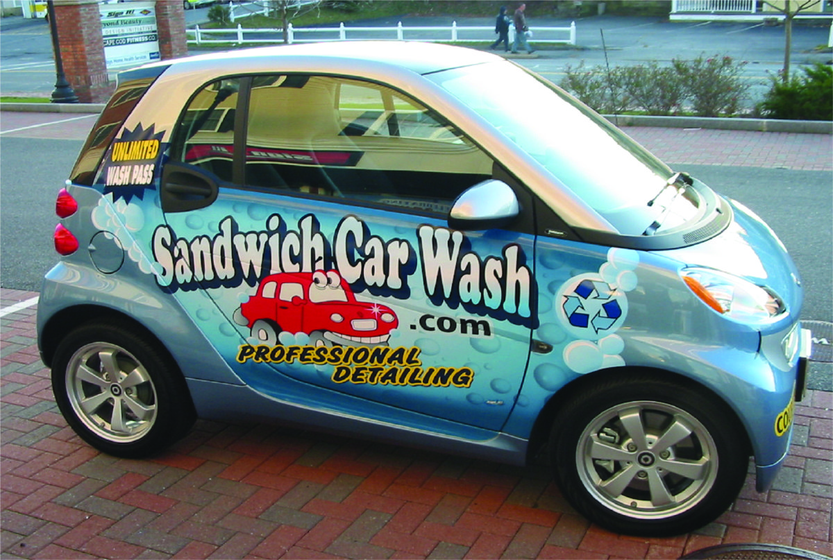 vehicle wrap by Sign It!