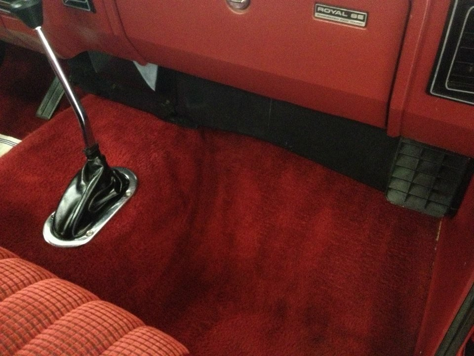 Auto upholstery detailing