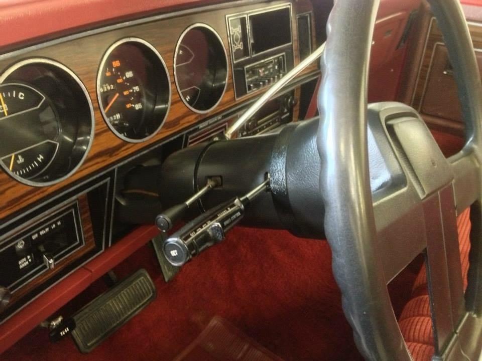 Auto interior detail