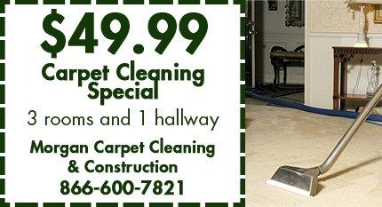 Home Services - Atlanta, GA - Morgan Carpet Cleaning & Construction