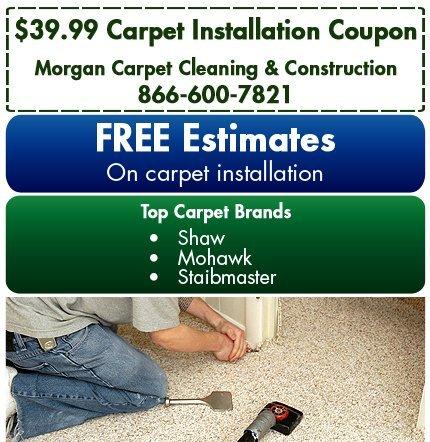 Carpet Sales - Atlanta, GA - Morgan Carpet Cleaning & Construction