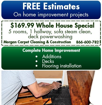 Home Improvement - Atlanta, GA - Morgan Carpet Cleaning & Construction