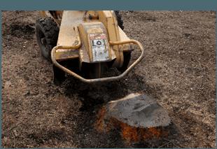 Stump grinder equipment