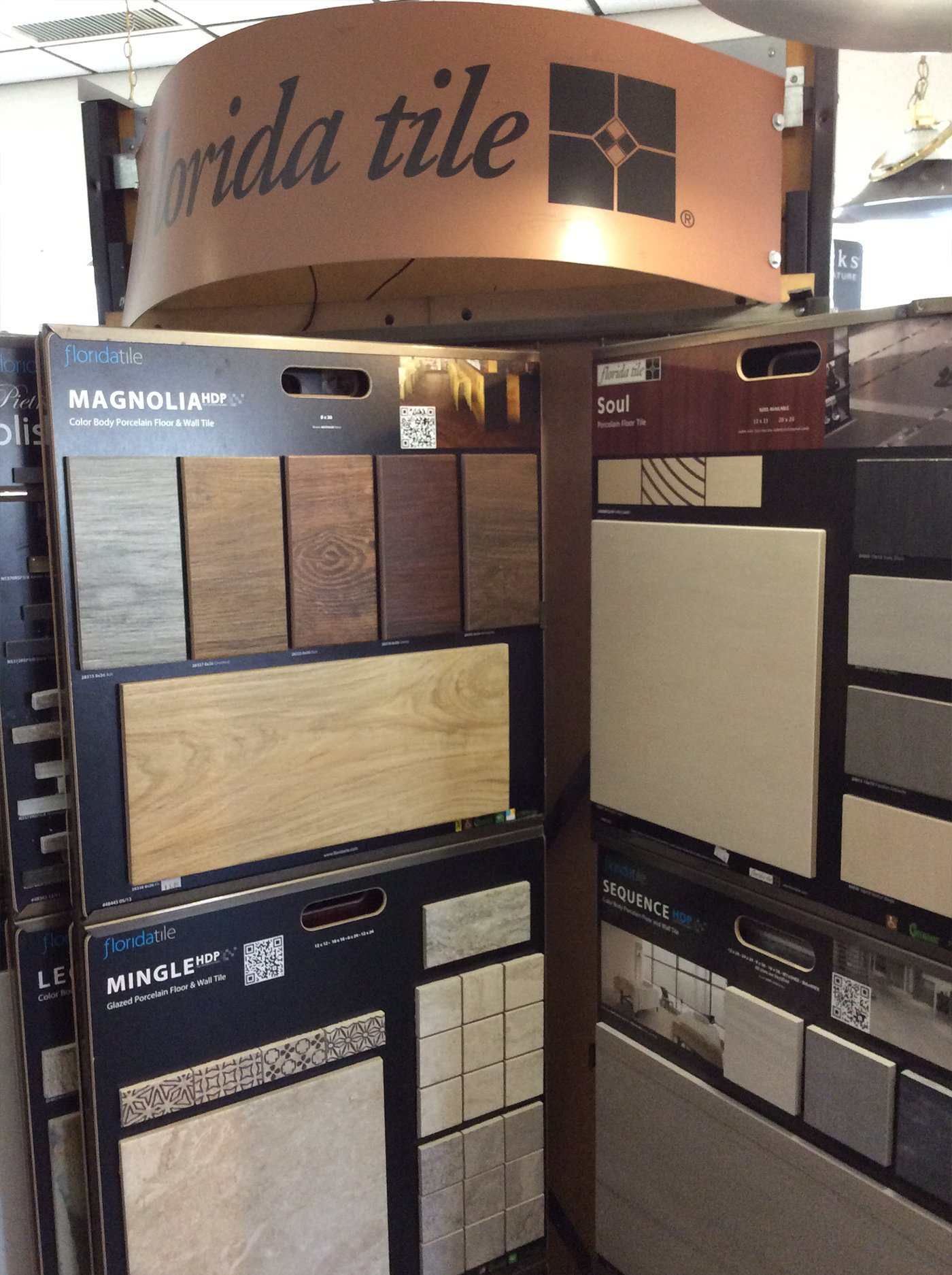 Hardwood display