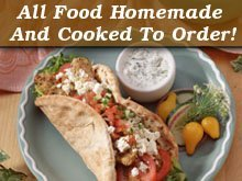 Hummus - Pleasant Hills, PA - Gali's Gyro & Grill - All Food Homemade And Cooked To Order!