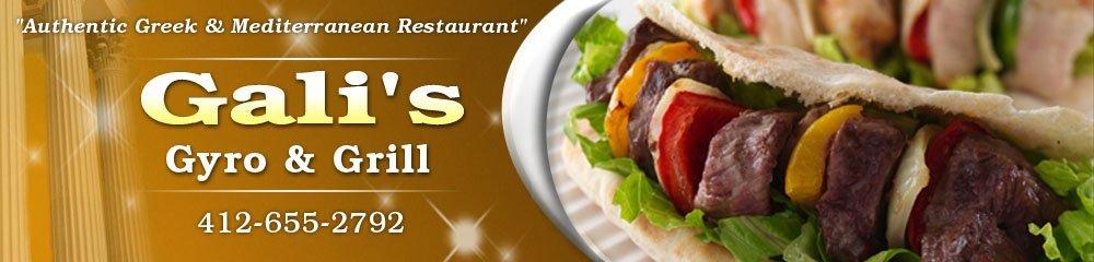 Greek Food - Pleasant Hills, PA - Gali's Gyro & Grill