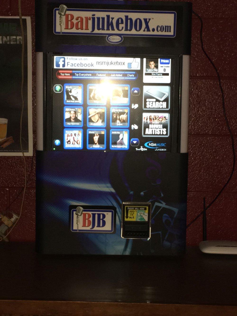 Bar jukebox