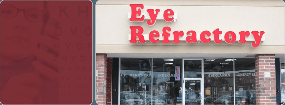 Eye Refractory sign board