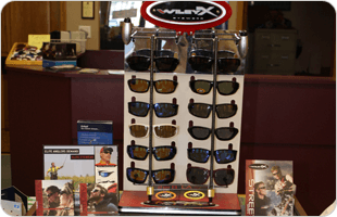 Eyeglasses and Sunglasses display