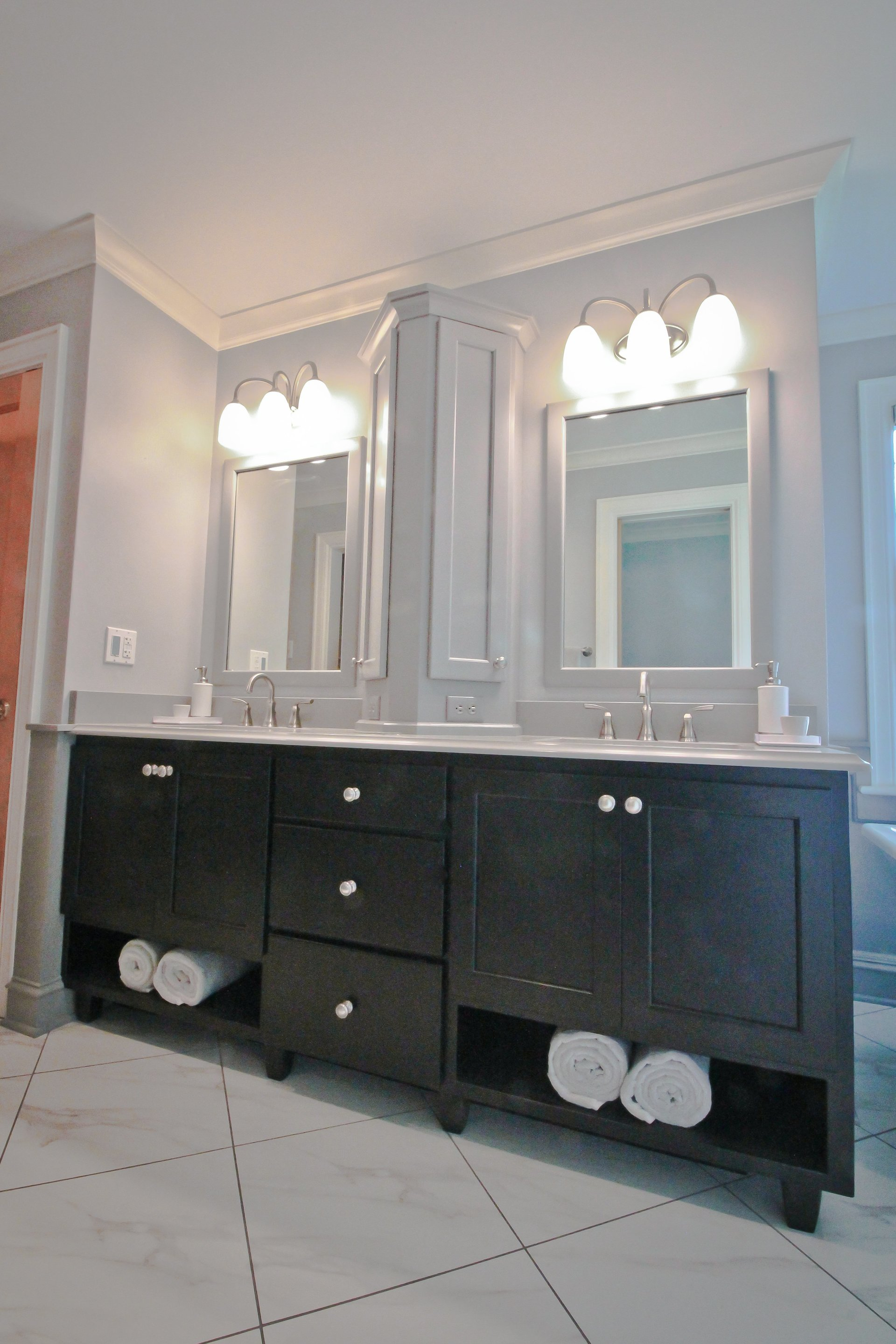 cabinets concept wooden for style bathroom white your vanity sensational shaker regarding medicine double on decor traditional home cabinet