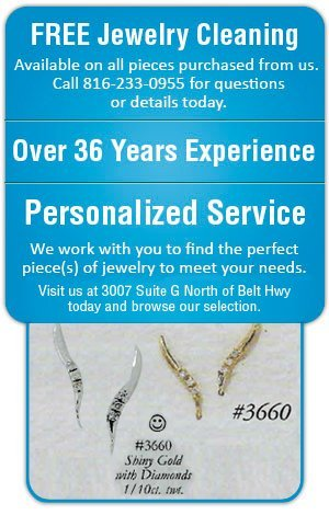 Rings and Ear Pins - Saint Joseph, MO - Adams Fine Jewelry