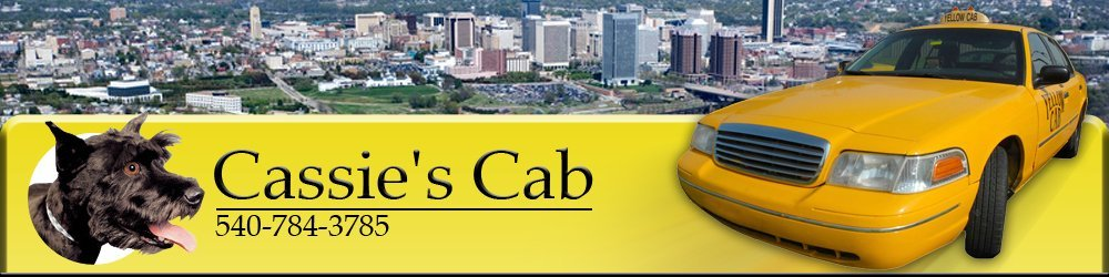 Taxi Services - Lexington, VA - Cassie's Cab
