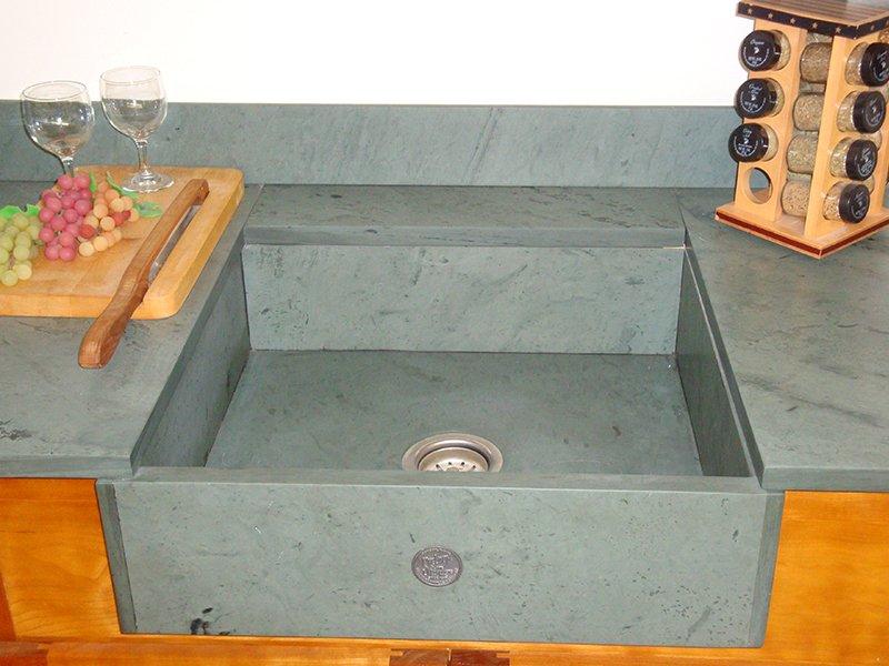 Slate sink