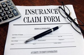 Insurance claim form for car accidents