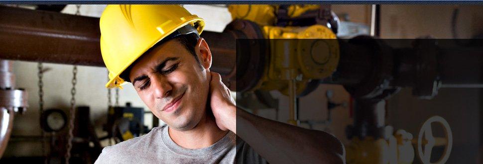 Worker endures his pain injuries