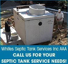 Septic Tank - Brooksville, FL - Whites Septic Tank Services Inc AAA