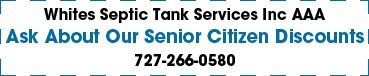 Whites Septic Tank Services Inc AAA - Coupon