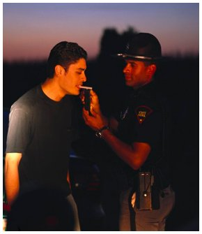 Man and a cop