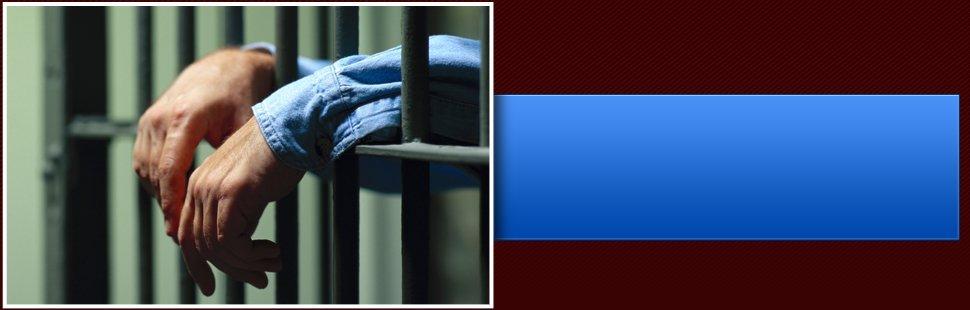 Man inside a prison