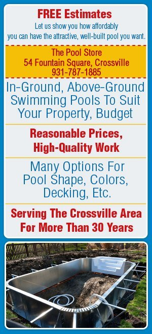 Swimming Pool Builders - Crossville, TN - The Pool Store