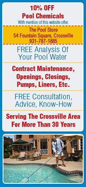Swimming Pool Service - Crossville, TN - The Pool Store