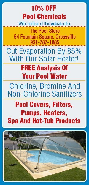 Swimming Pool Supplies - Crossville, TN - The Pool Store