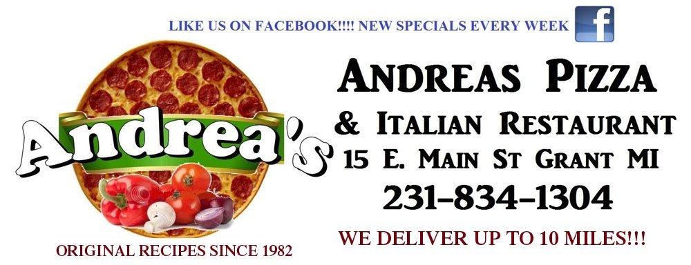Pizza Restaurant - Grant, MI - Andrea's Pizza & Italian Restaurant