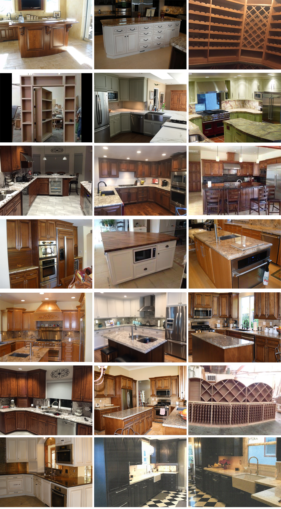 Custom Kitchen Island -  Richmar Cabinets Inc - Vacaville,  CA