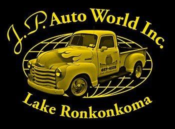 JP Auto World Logo