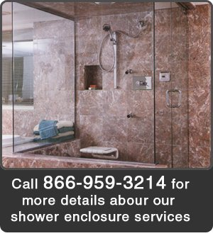 Glass Door - Framingham, MA - Federal Glass & Mirror Co Inc - Call 866-959-3214 for more details about our shower enclosure services