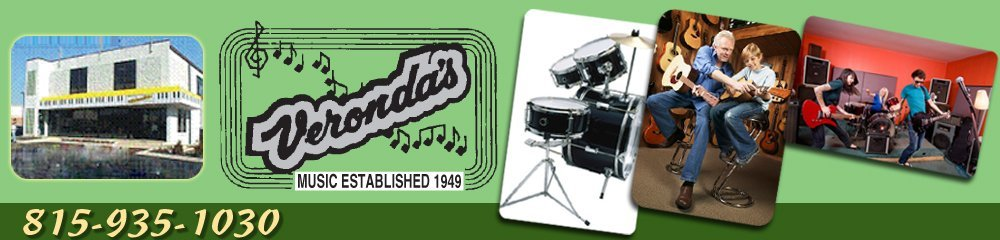 Music Store - Kankakee, IL - Veronda's Music