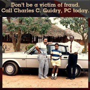 Family Law - Cypress, TX - Charles C. Guidry, PC - black men - Don't be a victim of fraud. Call Charles C. Guidry, PC today.