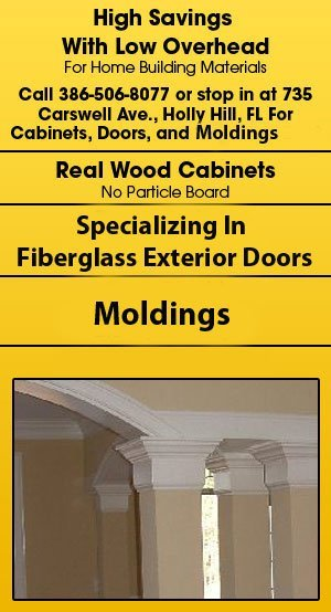 Cabinets and Doors - Daytona Beach, FL - Discount Building Materials