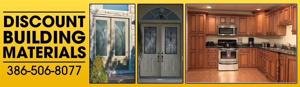 Discount Building Materials - Cabinets and Doors - Daytona Beach, FL