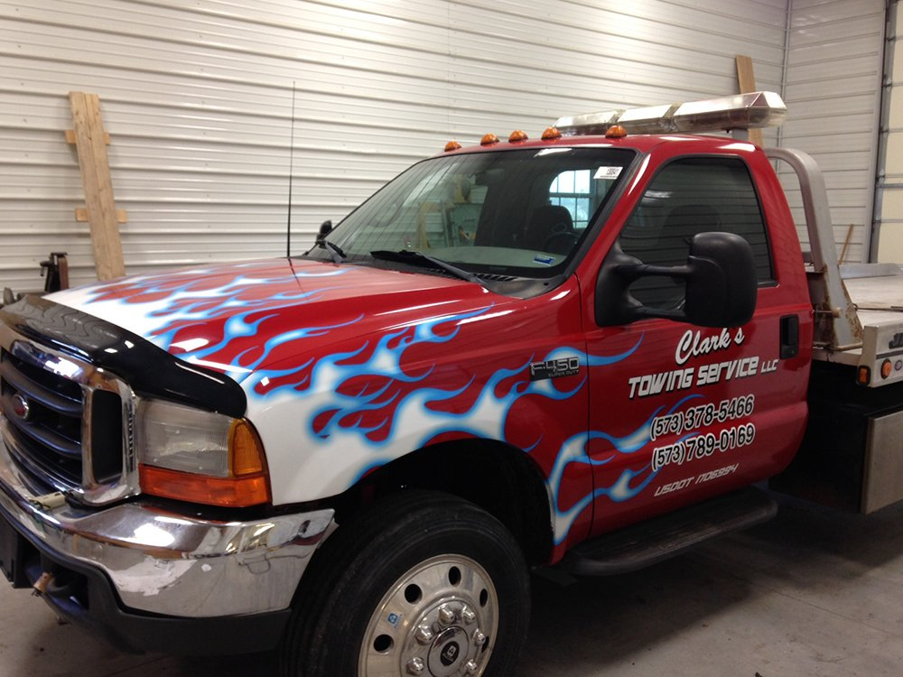 Decals and Vehicle Lettering