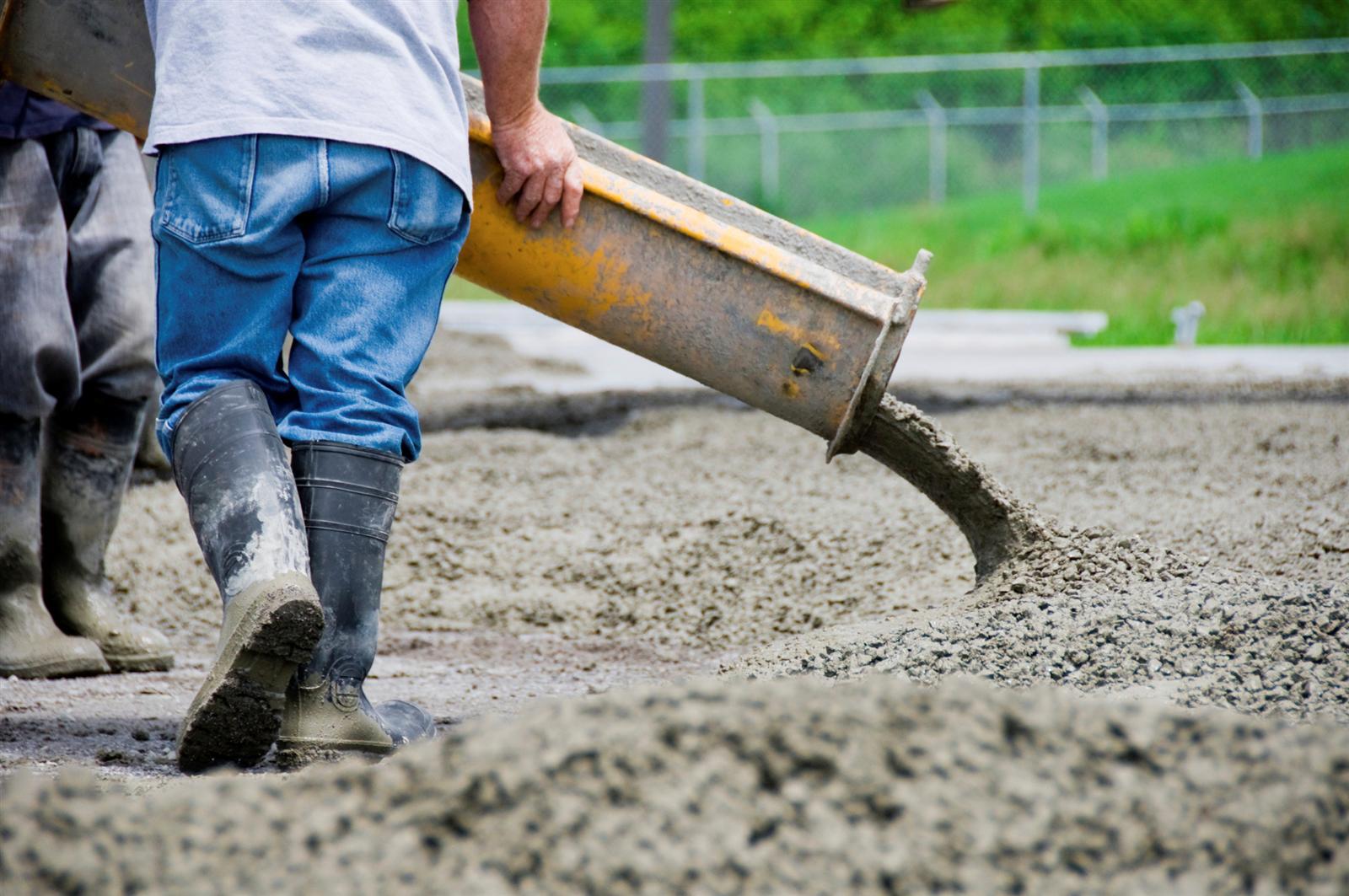 Concrete chainsaw