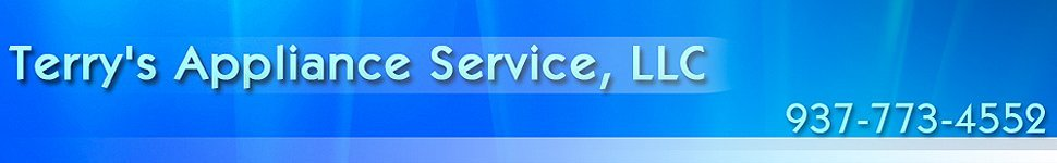 Home Appliance Dealers - Piqua, OH - Terry's Appliance Service, LLC