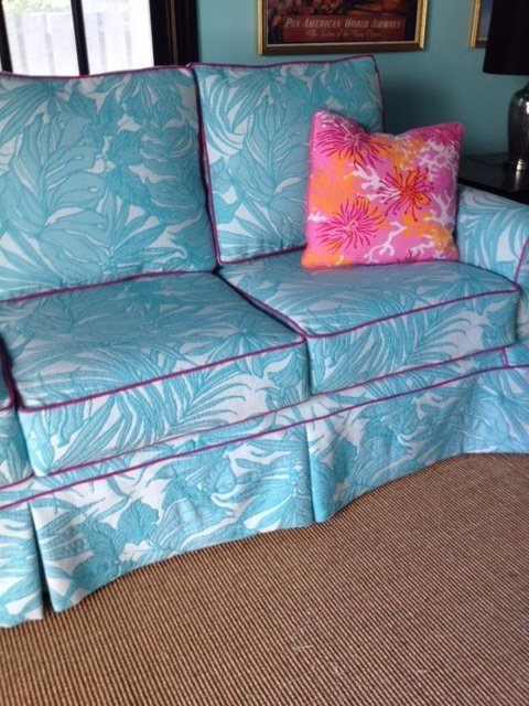 Blue Couch | Blue Sofa