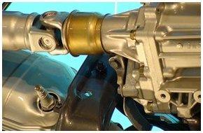 Car axle repair