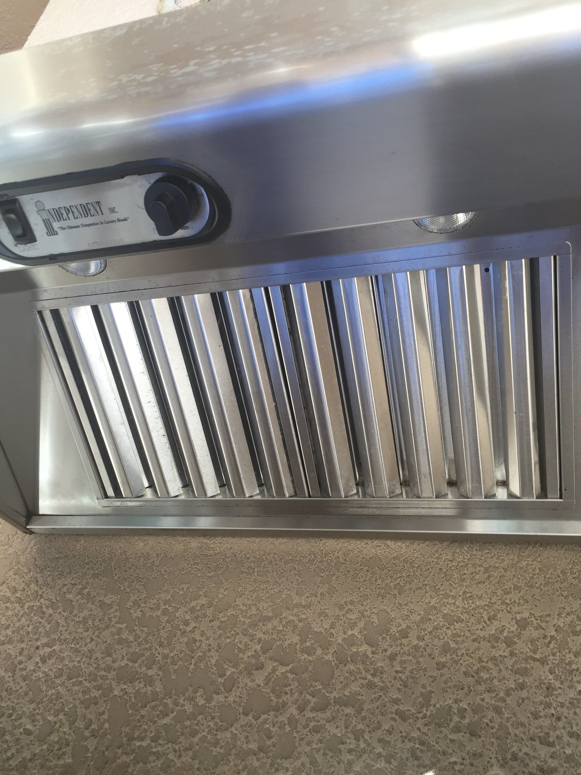 Grill Stove after cleaning
