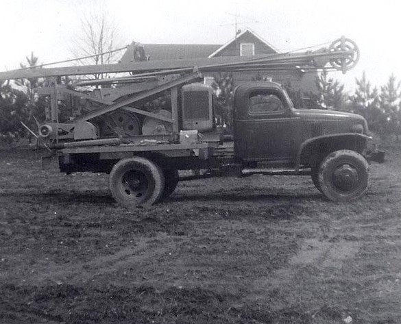 Forsyth Drilling Inc. truck