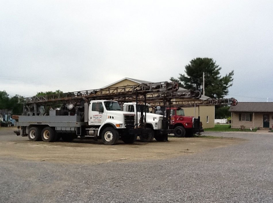 Forsyth Drilling Inc. trucks