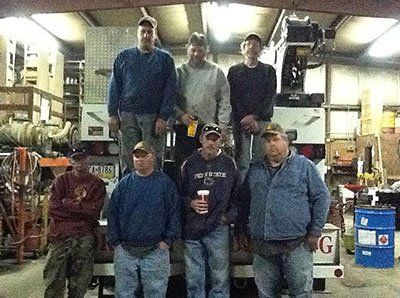 Forsyth Drilling Inc. team members