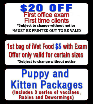Click to print coupon - West Covina, CA - Country Club Animal Hospital