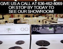 Used Appliances  - Troy, MO - D&D Used Appliances - washer repair - Give us a call at 636-462-8069 or stop by today to see our showroom!